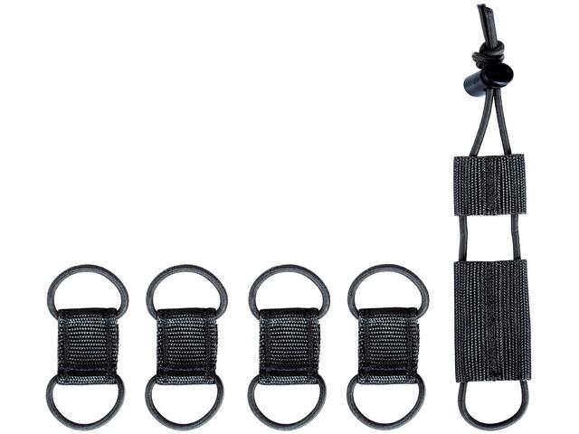Tasmanian Tiger TT Set Administrador Cables, negro